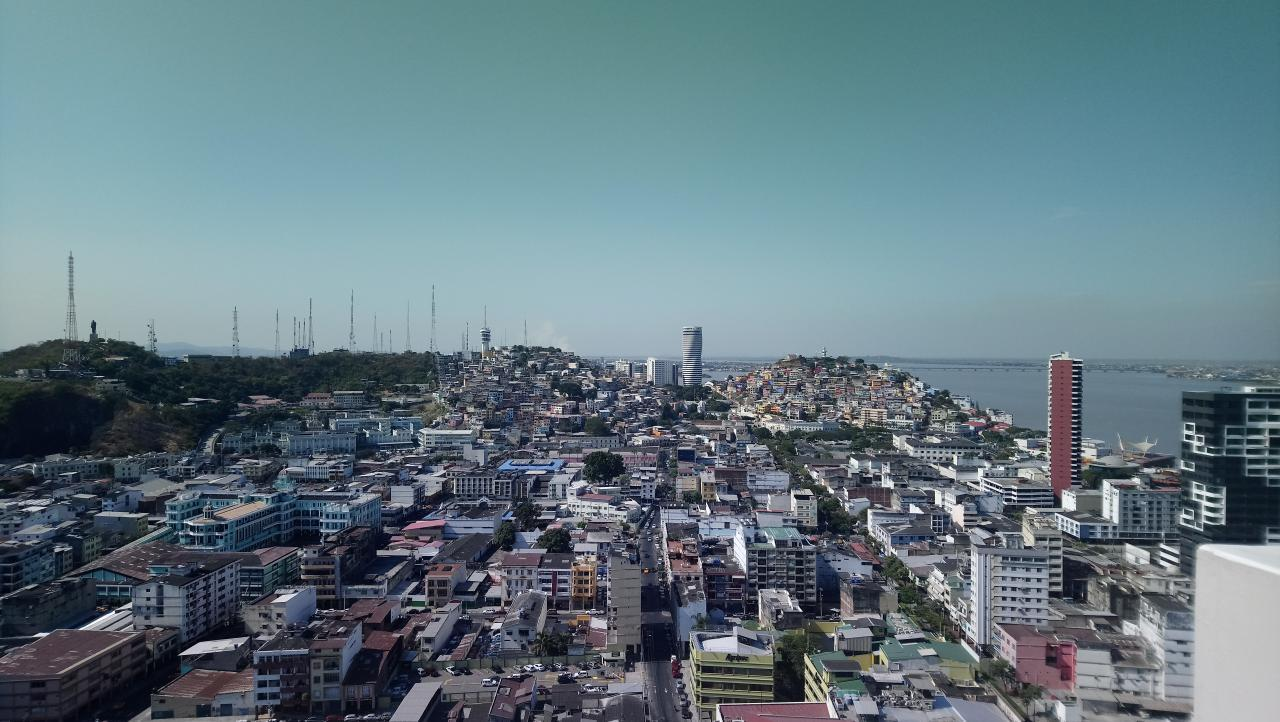 ...in Guayaquil