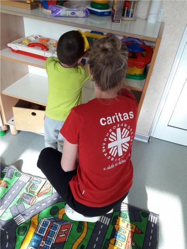 Der Kindergarten der Caritas