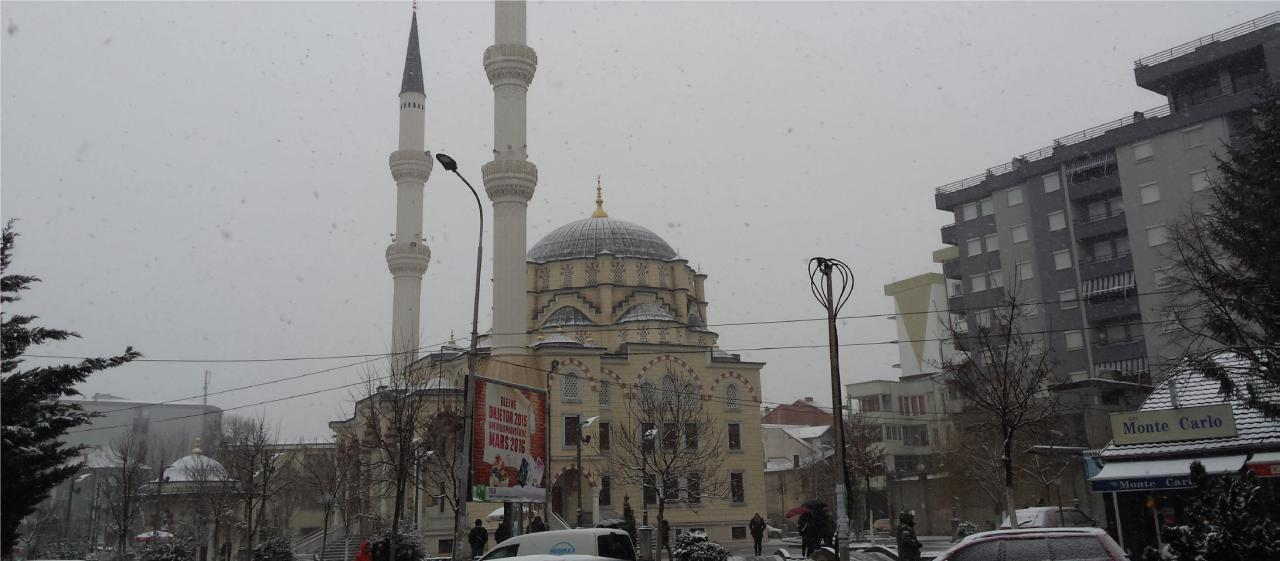 Moschee in Mitrovica